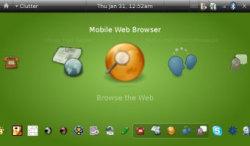 Pantallazo de Ubuntu Mobile