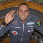 Mark Shuttleworth en la Estación Espacial Internacional