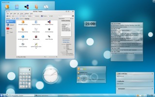Air en KDE